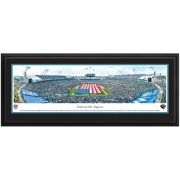 """Jacksonville Jaguars 44"""" x 18"""" Opening Ceremony Deluxe Frame Panoramic Photo"""