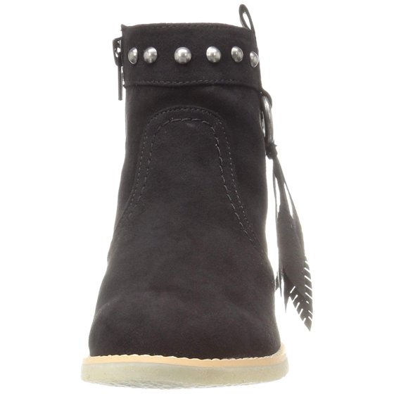 52169a091ee9 Dolce Vita - Dolce Vita Girls Pally Suede Ankle Zipper Wedge