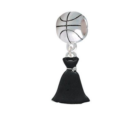 Black Dress - Basketball Charm Bead Dress Basket