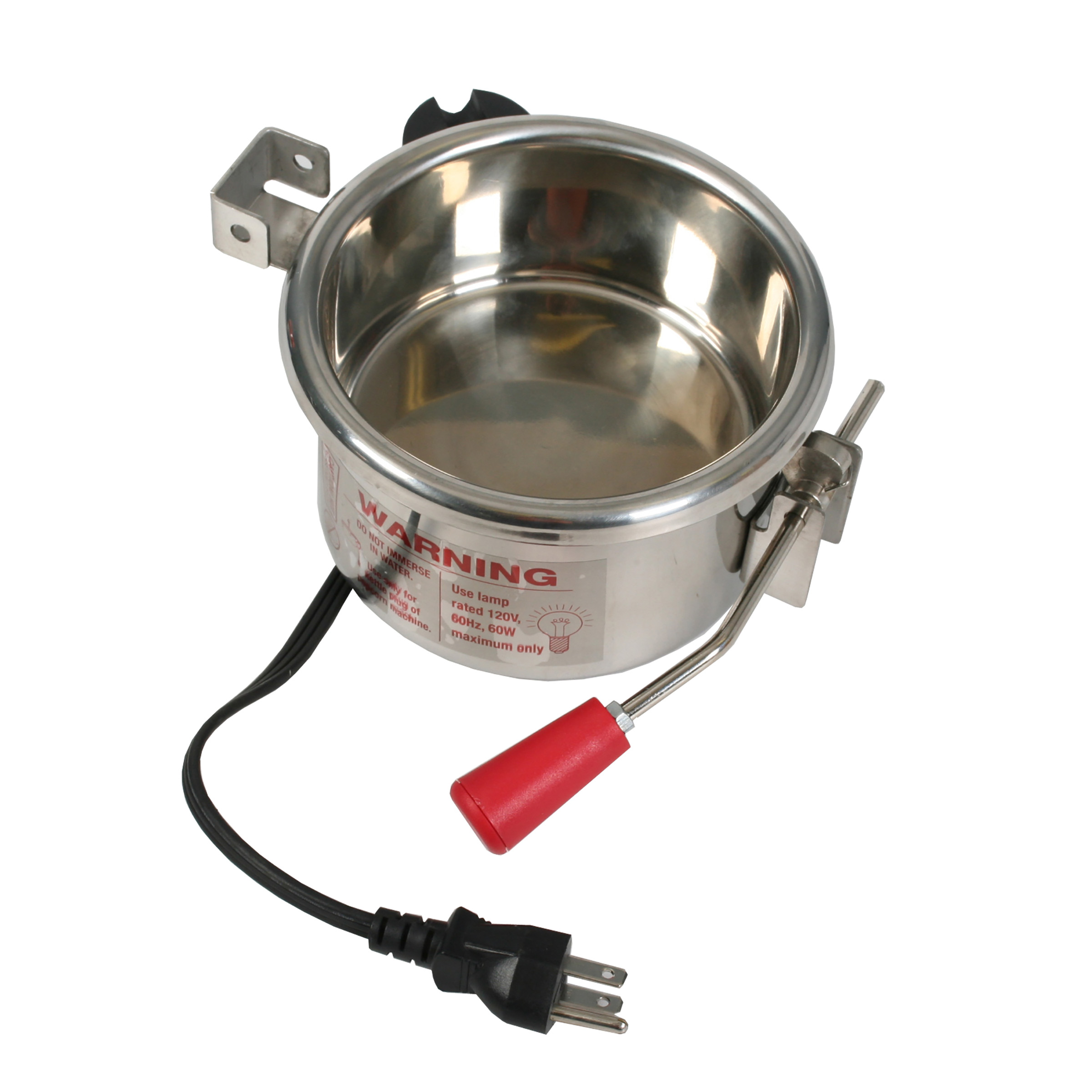 6 Ounce Popcorn Kettle for Great Northern Popcorn Machines Stainless Steel