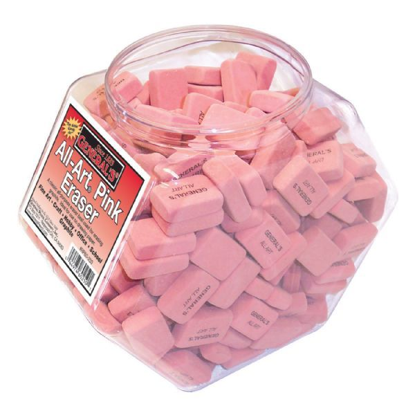 Erasers in Pink