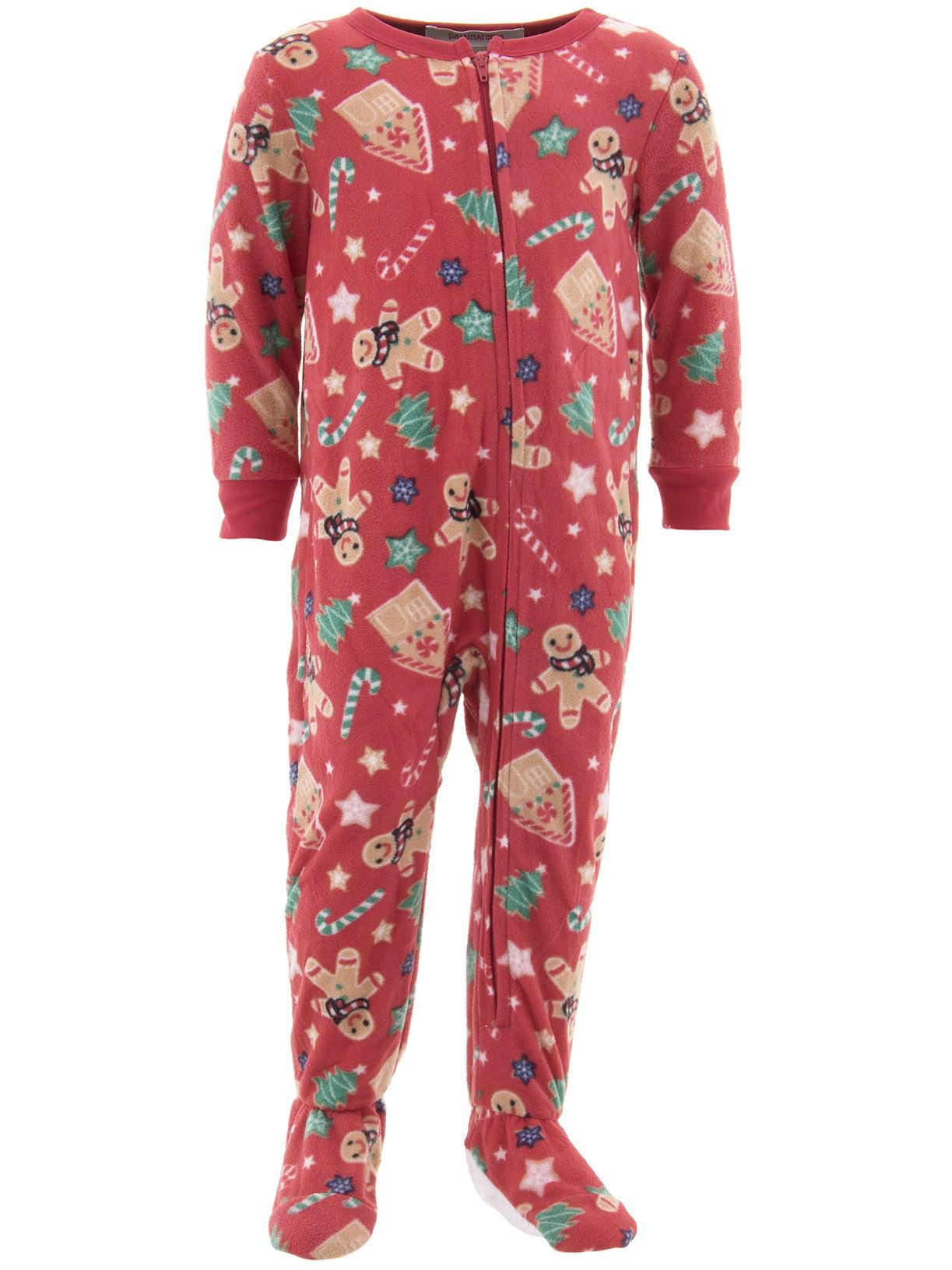 Gingerbread Men Toddler Christmas Blanket Sleeper Pajama