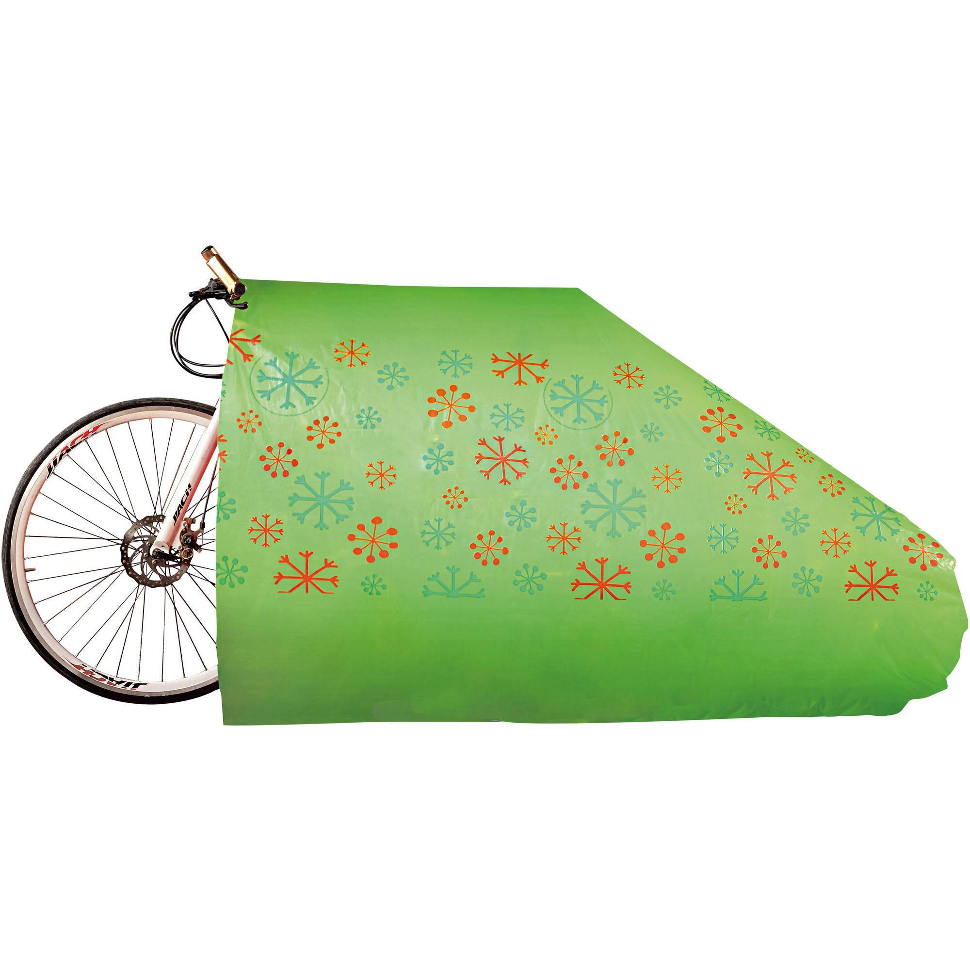 Holiday Time Poly Bike Bag Snowflakes