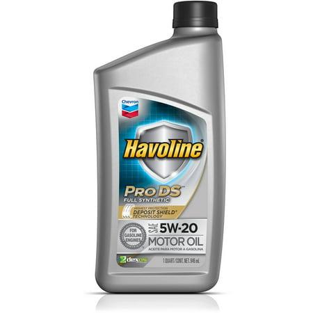 Havoline Prods Synthetic Motor Oil 5W20