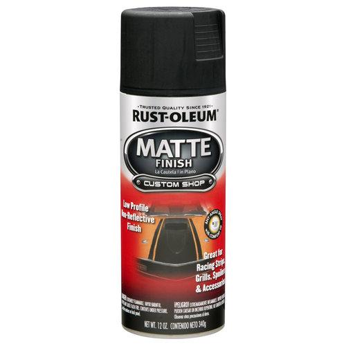 Rust-Oleum Automotive Enamel, Matte Black