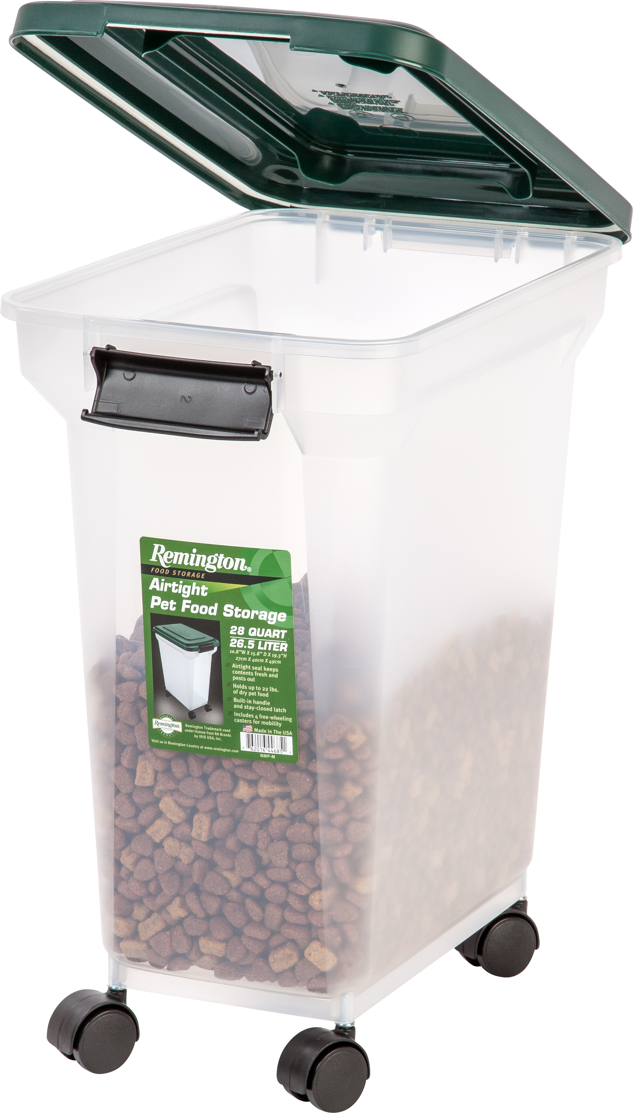 $11.99 (reg $25.59) Remington Airtight Pet Food Storage Container