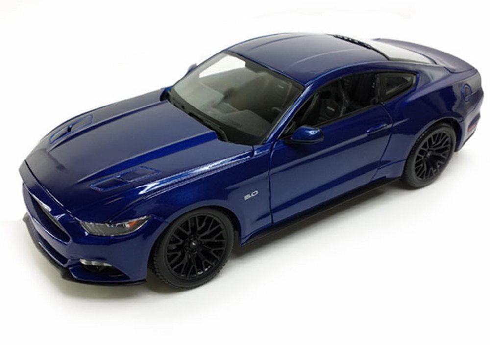 2015 Ford Mustang GT, Blue Maisto 31508BU 1 24 scale diecast model car by Maisto