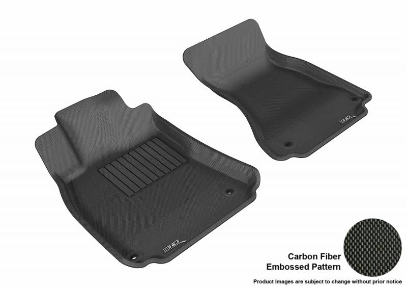 Audi A5 Coupe 2017-Now New Fully Tailored Car Floor Mats Black Heavy Duty Rubber