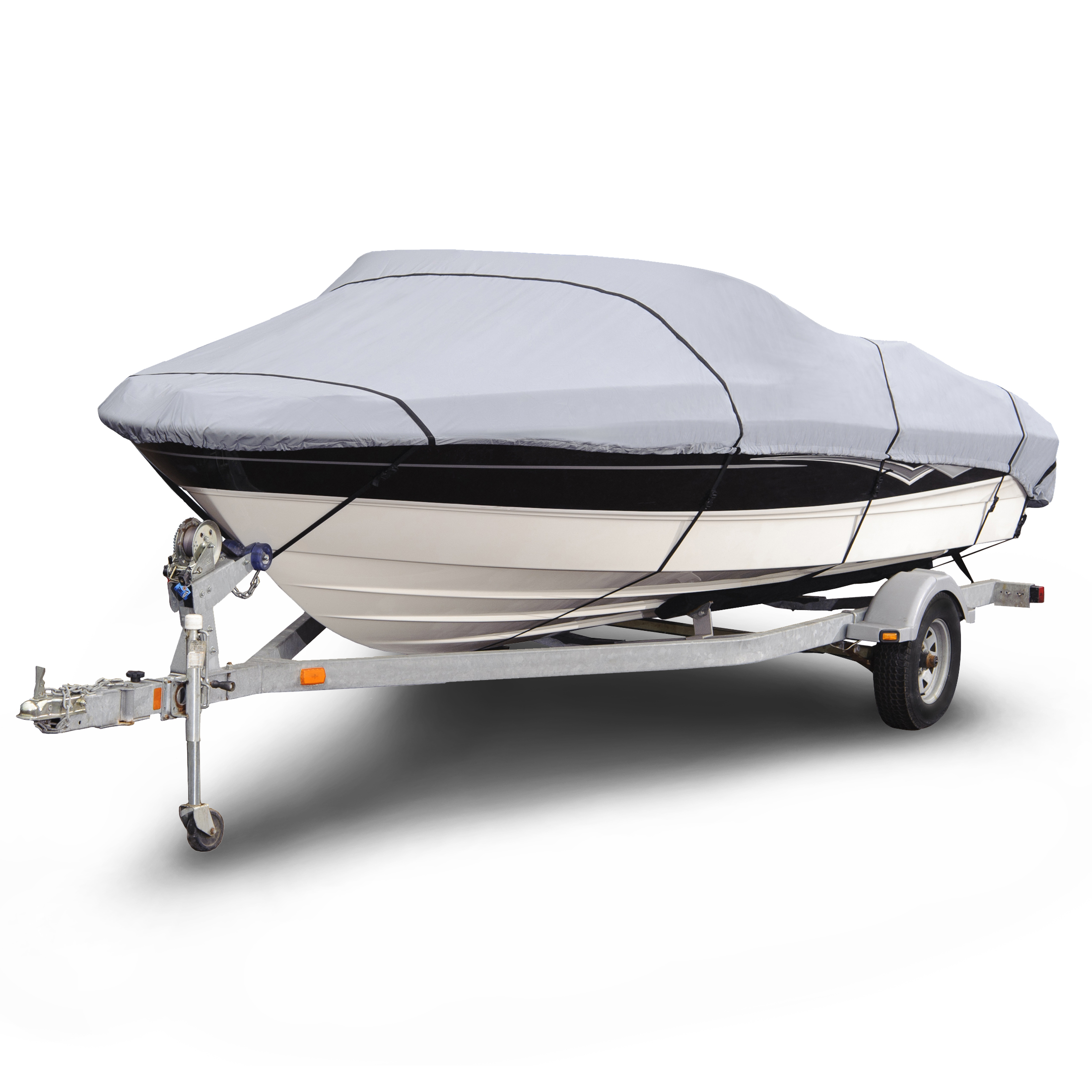 BUDGE 150 Denier Boat Cover, Weather Resistant Outdoor Bo...