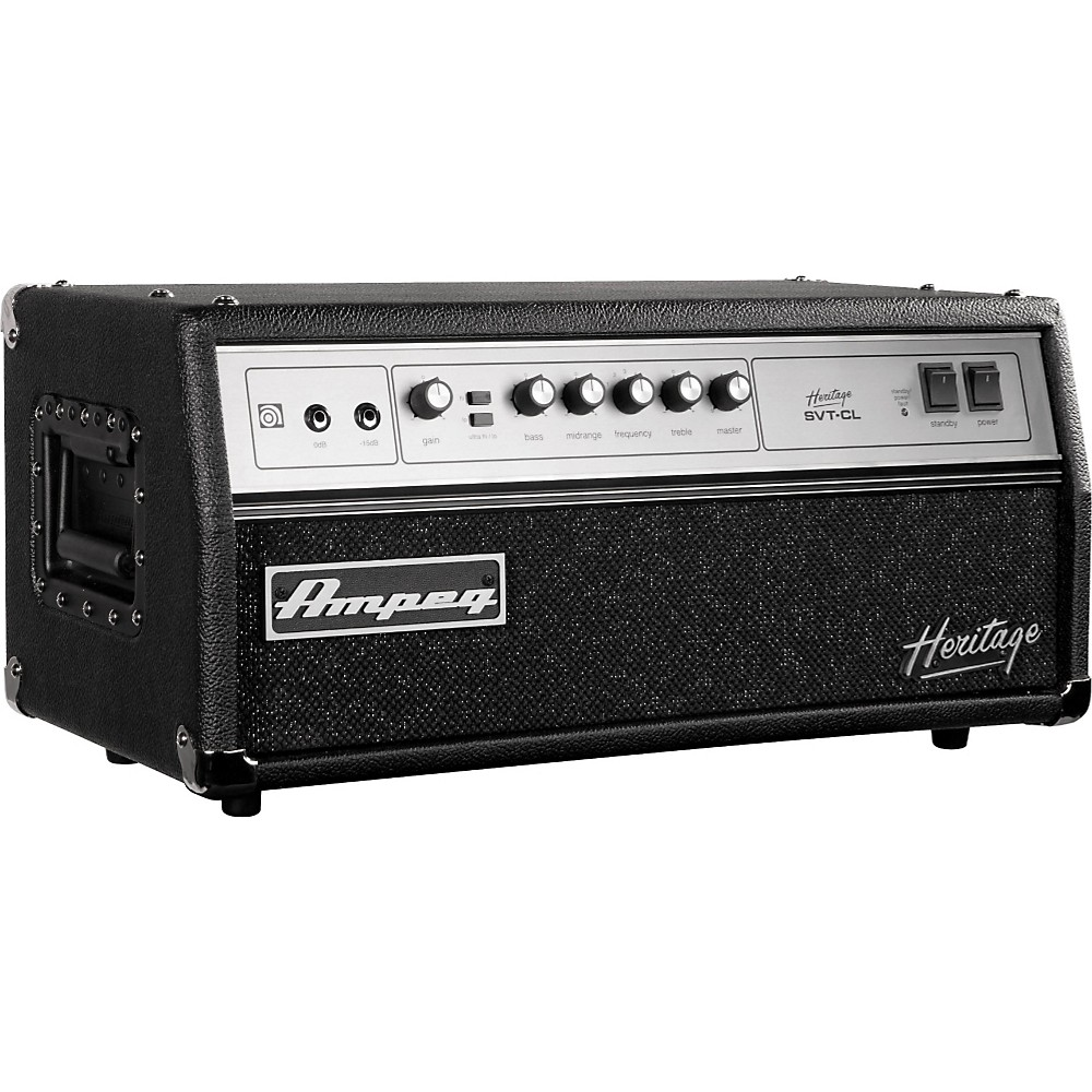 Ampeg Heritage Series SVT-CL 2011 300W Tube Bass Amp Head by Ampeg
