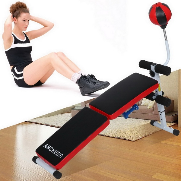Adjustable Folding Gym Weight Bench Fitness Dumbbell With...