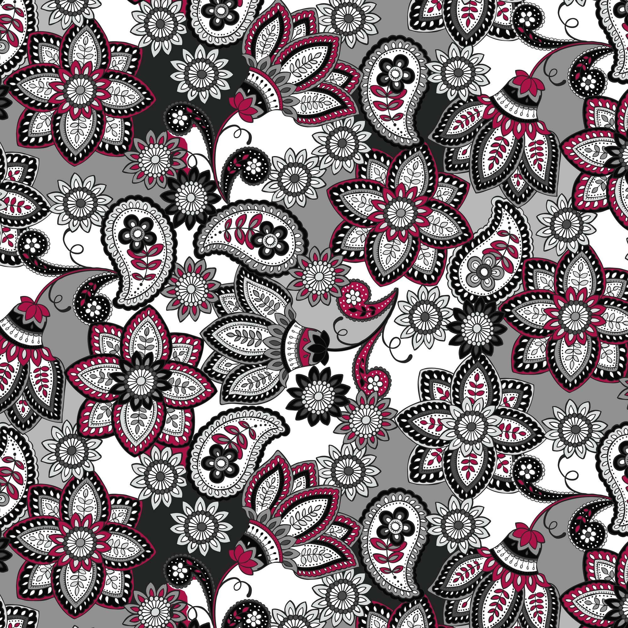 David Textiles Cotton Precut Fabric Bali Beauty 1 Yd X 44 Inches
