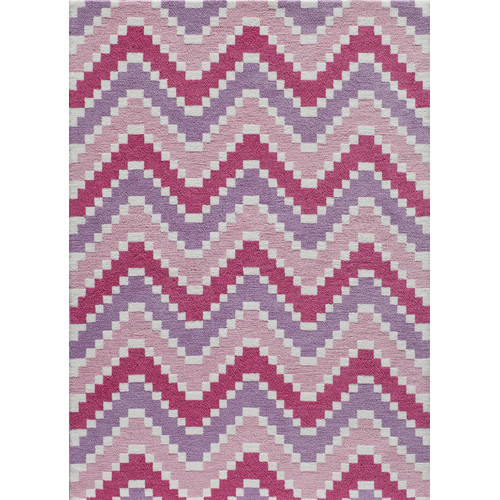 Momeni Heavenly Hand-Tufted Pink Area Rug