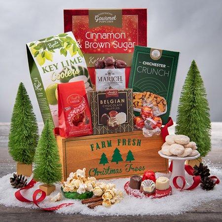 A Taste Of Christmas Gift Basket ()