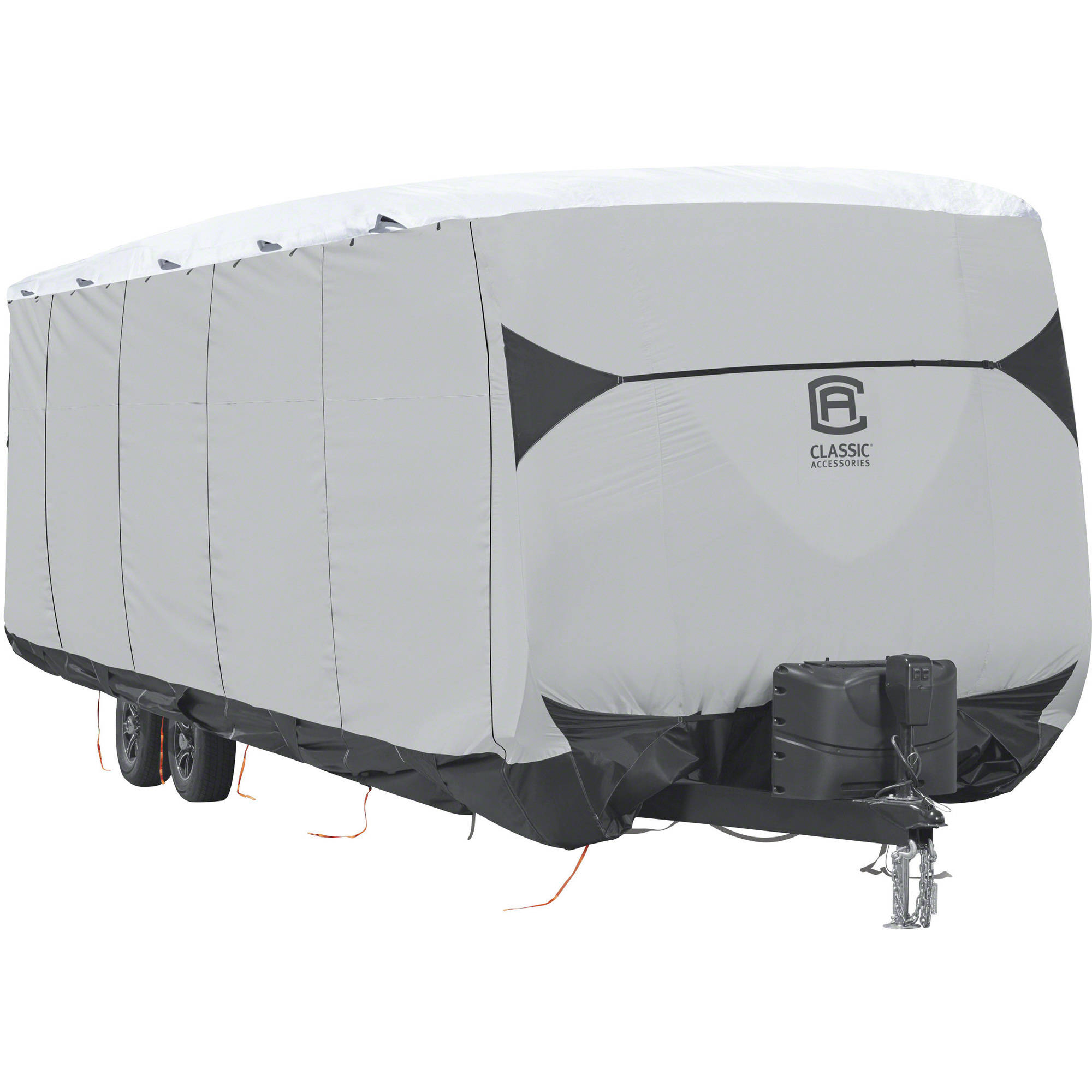 SkyShield Deluxe Tyvek Travel Trailer Cover, Fits 15' - 18' Trailers - Water Repellent Tyvek RV Cover, Classic Accessories