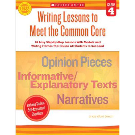Writing Lessons to Meet the Common Core, Grade 4