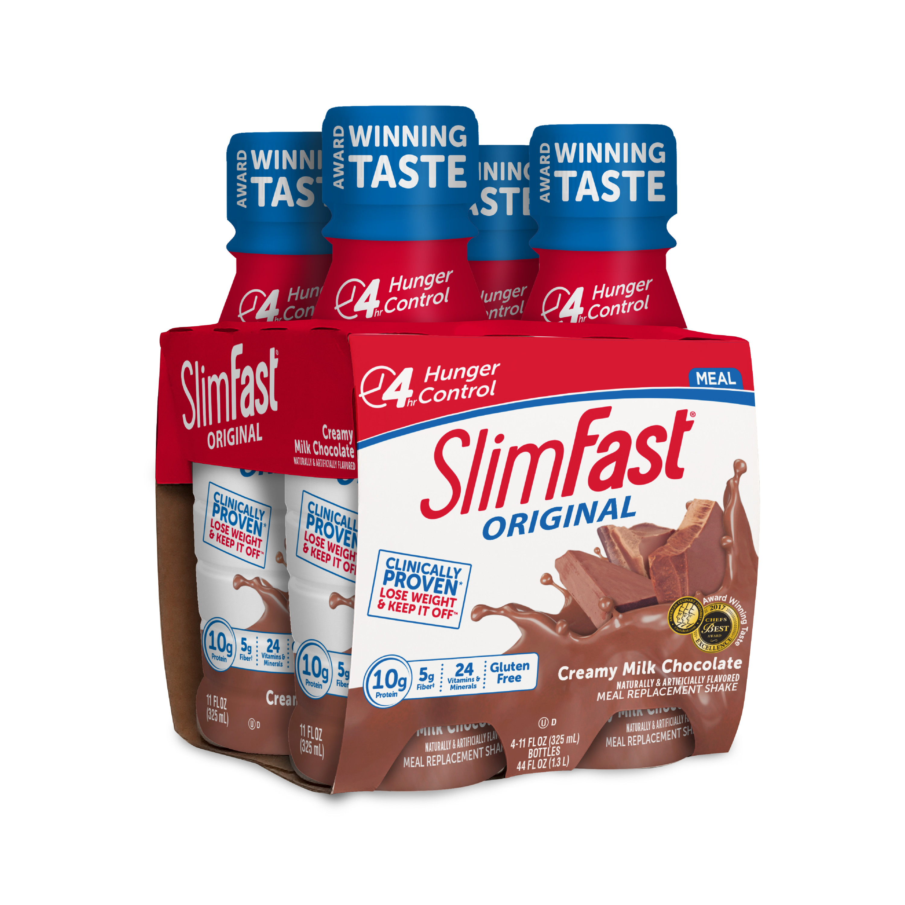 SlimFast Original RTD Creamy Milk Chocolate 4pk