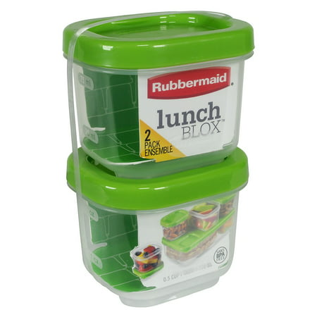 Rubbermaid LunchBox Sauce Container (Set of 2), - Halloween Lunch Box Ideas
