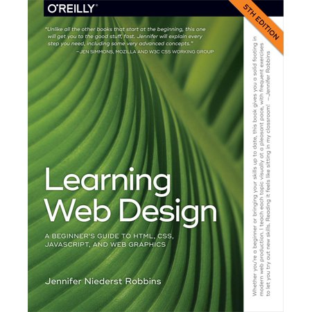 Learning Web Design - eBook (Best Place To Learn Web Design)
