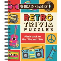 Brain Games Retro Trivia Puzzles: Flash Back to the '70's and '80's (Other)