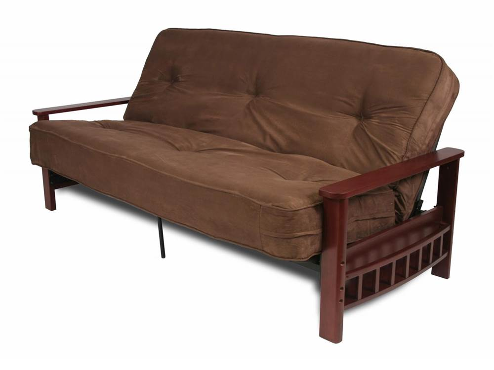 futon frame with storage arms   walmart    rh   walmart