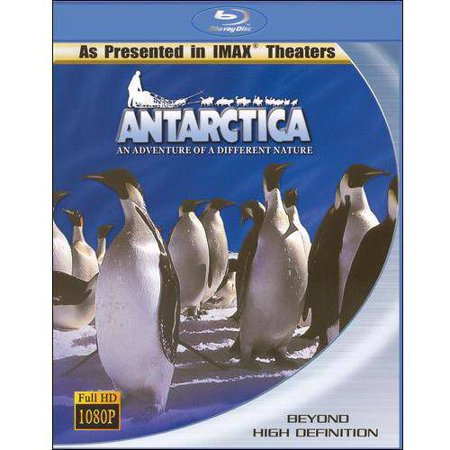 Antarctica  An Adventure Of A Different Nature  Blu Ray