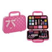 PinkLeaf Makeup Set Nail Art Kit Duo Gift For Little Girls 3 Safe