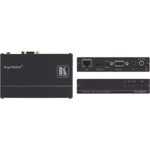 Image of Kramer HDMI, Bidirectional RS?232 & IR over HDBaseT Twisted Pair Transmitter TP-580T
