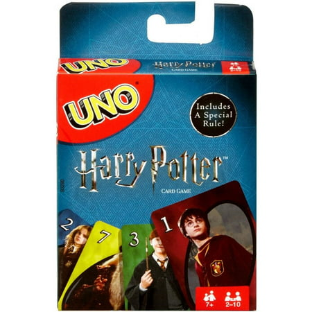 UNO Harry Potter Themed Card Game for 2-10 Players Ages 7Y+
