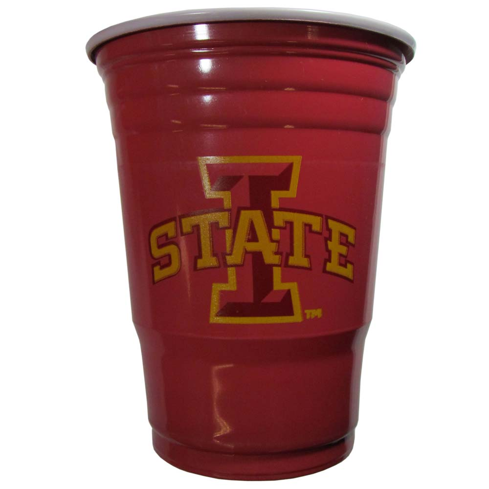 Iowa State Cyclones Plastic Game Day Cups