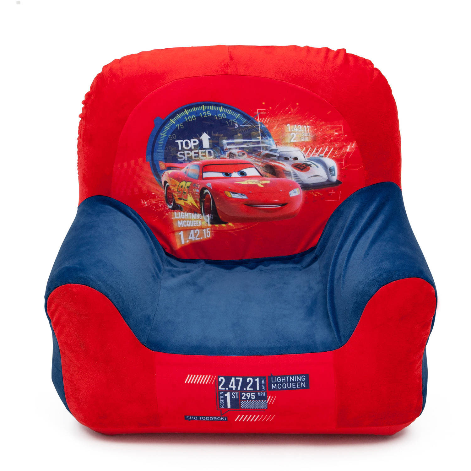 Delta children club chair cars kids toddler inflatable for Kids chairs for boys