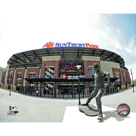 Suntrust Park 2017 Photo Print