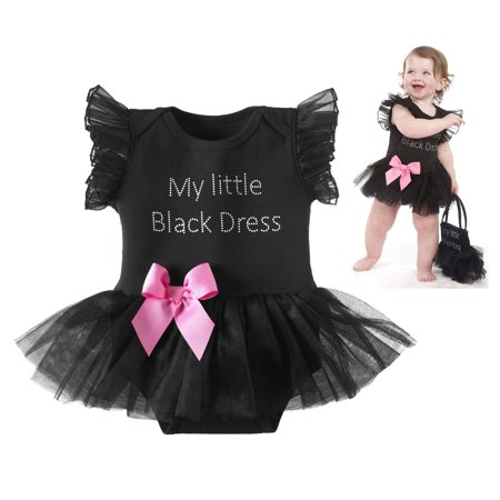 It's never too early to own a little black dress, especially one so adorable! This baby girl's sweetly sophisticated number is perfect for any special occasion.
