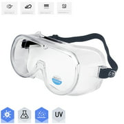 CVLIFE 2Pcs Safety Glasses Eye Protection Safety Goggles Protective Glasses Lab Work Anti Fog Anti Scratch Protective Glasses For Reduce Eye Strain & Fatigue UV Protection