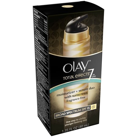 Olay Total Effects 7 In One Moisturizer   Serum Duo  1 35 Fl Oz