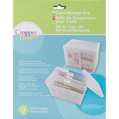 Advantus Card Storage Box