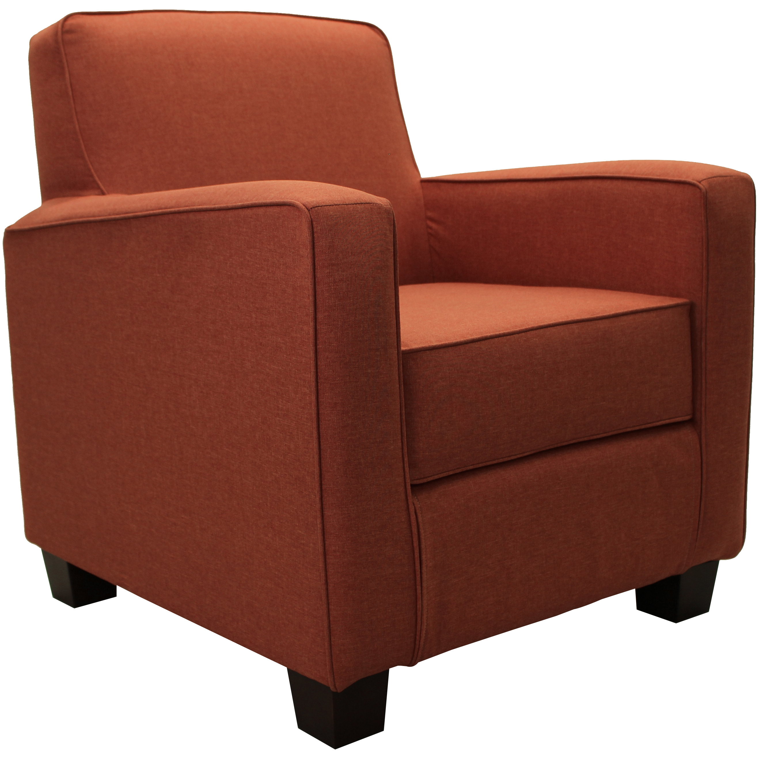 Fox Hill Johnston Trackarm Lounge Chair, Multiple Colors