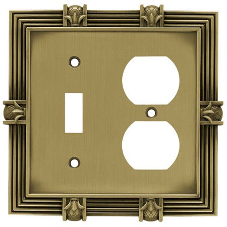 Franklin Brass Pineapple Single Switch And Duplex Wall Plate  Available In Multiple Colors