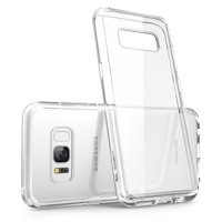 Samsung Galaxy S8 Plus Case, Scratch Resistant, i-Blason, Galaxy S8 Plus, Clear Halo Series, Hybrid Bumper Case