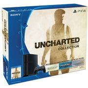 Refurbished Sony 3001362 PlayStation 4 500GB Console Black Uncharted Bundle
