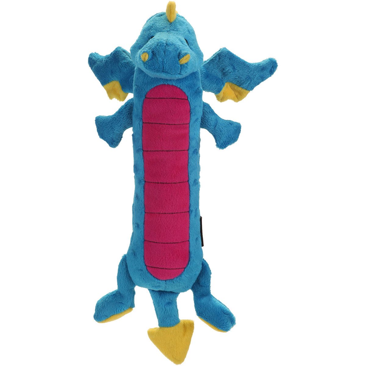 goDog Skinny Dragons with Chew Guard Small-Blue