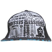 Sessions Boss Cap Black Magic Mens Sz S
