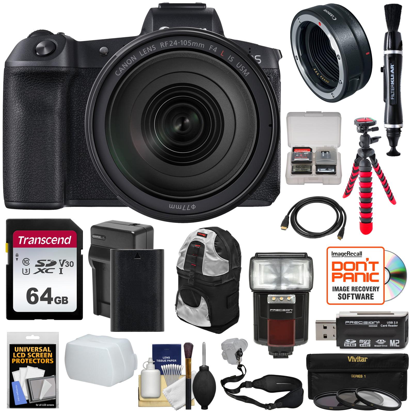 Canon Eos R Full Frame Mirrorless Digital Camera 24