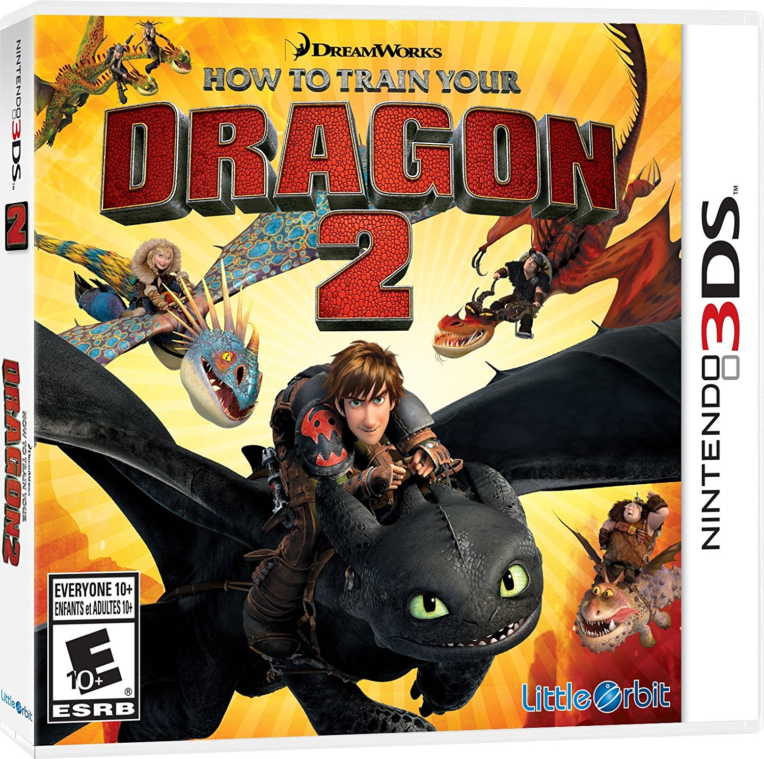 How to Train Your Dragon 2: The Video Game - Nintendo 3DS, By Little Orbit
