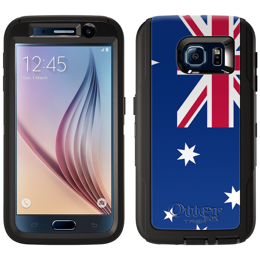 OtterBox Defender Samsung Galaxy S6 Case - Australia Flag...