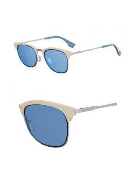 013c6c8c97e Product Image Sunglasses Fendi 228  S 0SCB Silver Blue   KU blue avio lens