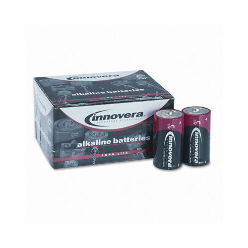 INNOVERA                                           Alkaline Battery, C, 12/Pack