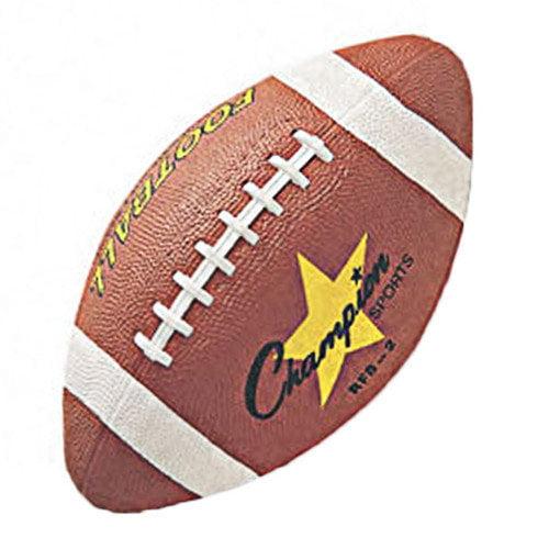 Champion Sports Rubber Sports Ball for Football, Intermediate Size