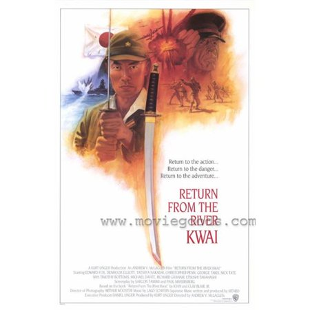 Posterazzi MOVIH7629 Return From the River Kwai Movie Poster - 27 x 40 in. - image 1 de 1