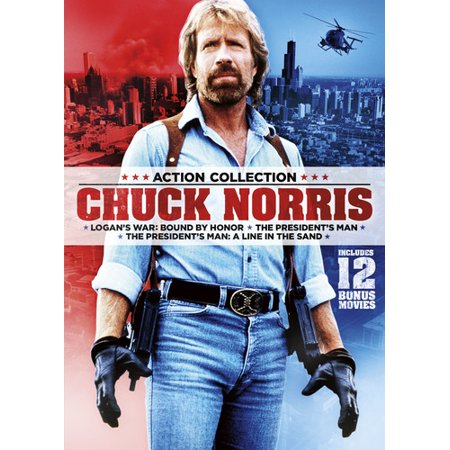 15-Film Action Pack featuring Chuck Norris (DVD)